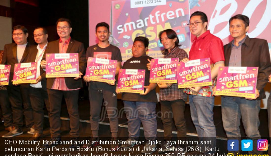 Smartfren Luncuran Kartu Perdana BosKu - JPNN.com