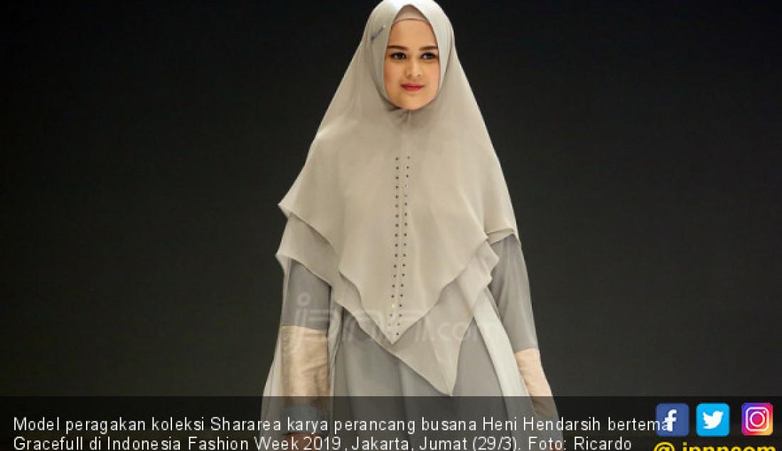 Perancang Busana Heni Hendarsih Tampil di Indonesia Fashion Week 2019 - JPNN.com