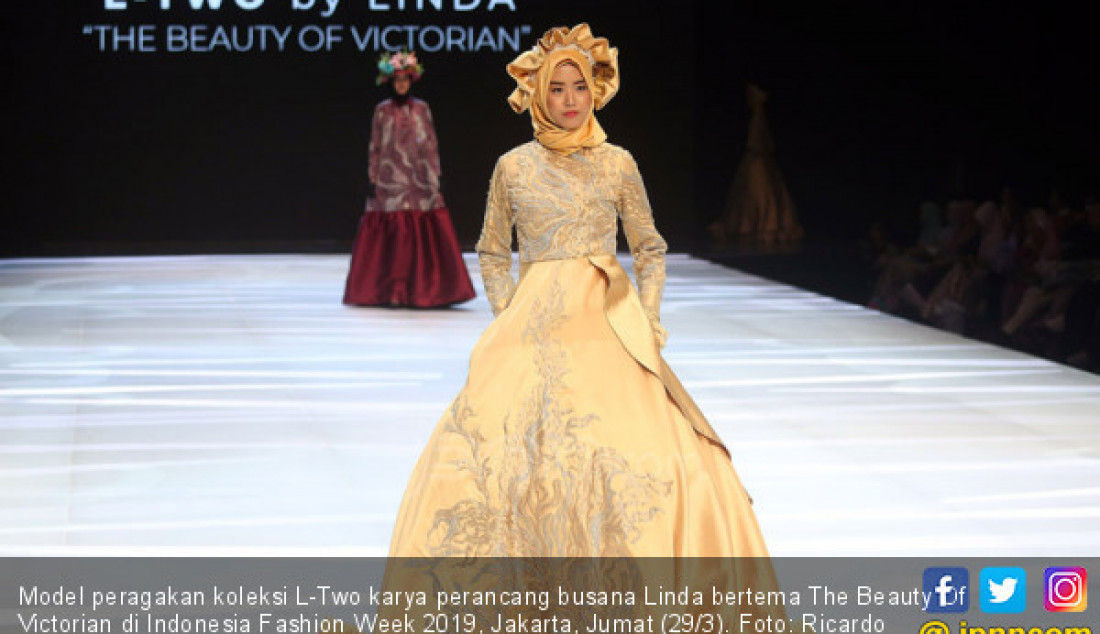 Perancang Busana Linda Tampil di Indonesia Fashion Week 2019 - JPNN.com