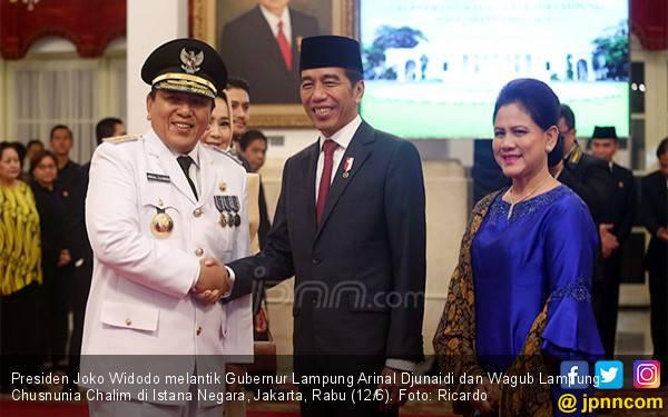 Permintaan Khusus Jokowi ke Gubernur Lampung - JPNN.com