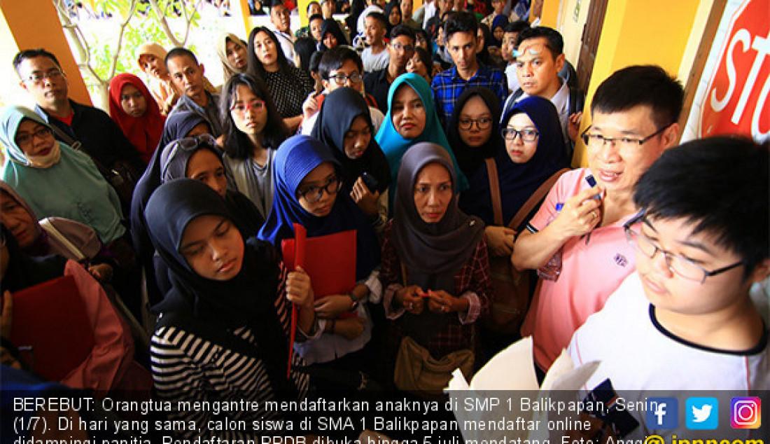 Catat, Pendaftaran PPDB Berakhir 5 Juli - JPNN.com