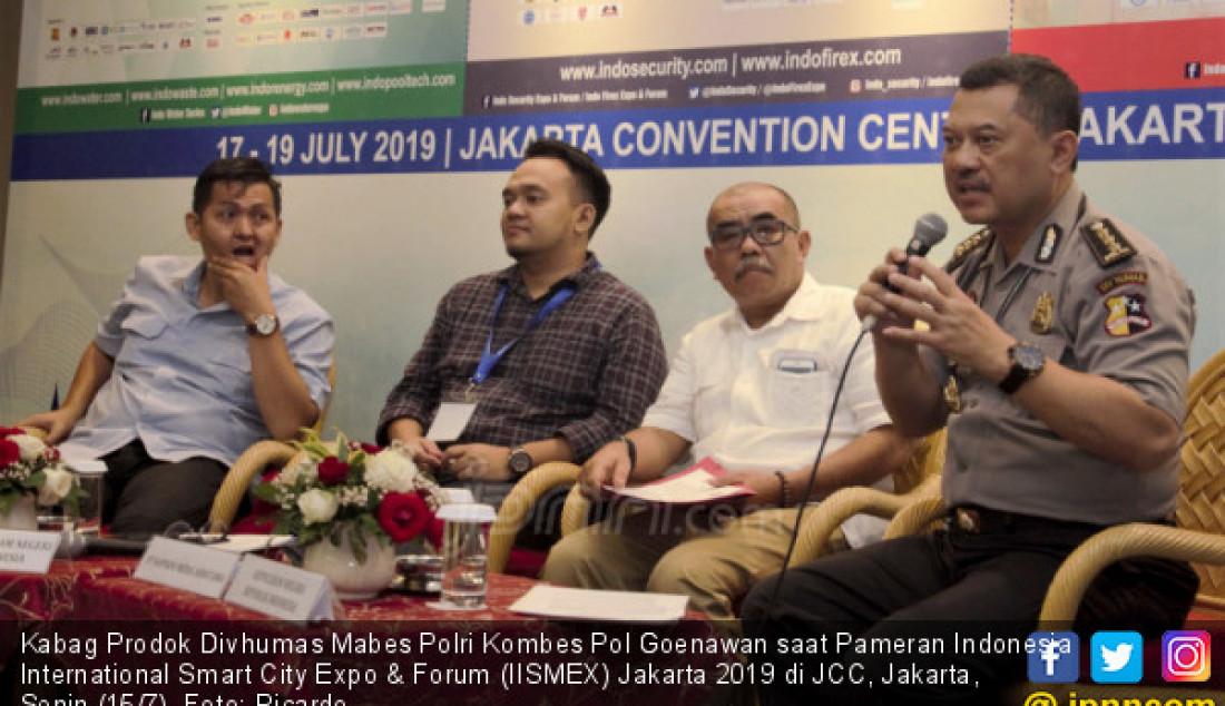 Jelang Pameran Indonesia International Smart City Expo & Forum (IISMEX) Jakarta 2019 - JPNN.com