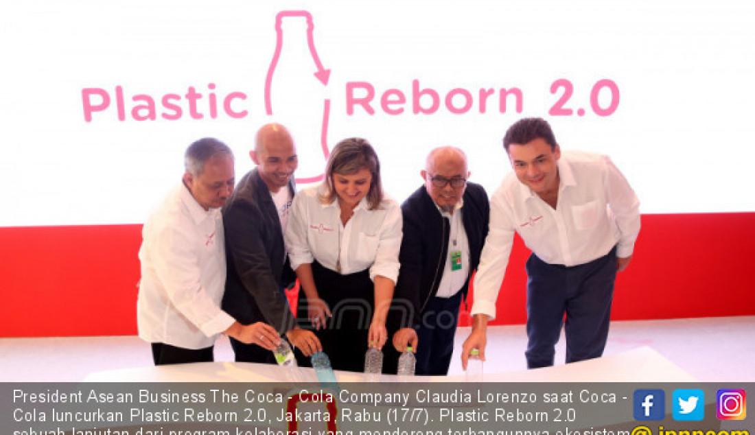 Coca - Cola Luncurkan Plastic Reborn 2.0 - JPNN.com