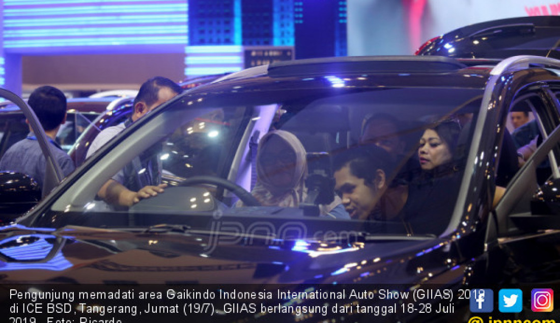 Gaikindo Indonesia International Auto Show (GIIAS) 2019 - JPNN.com