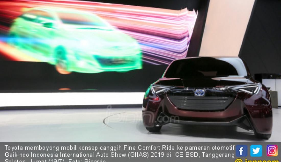 Toyota Fine Comfort Ride - JPNN.com