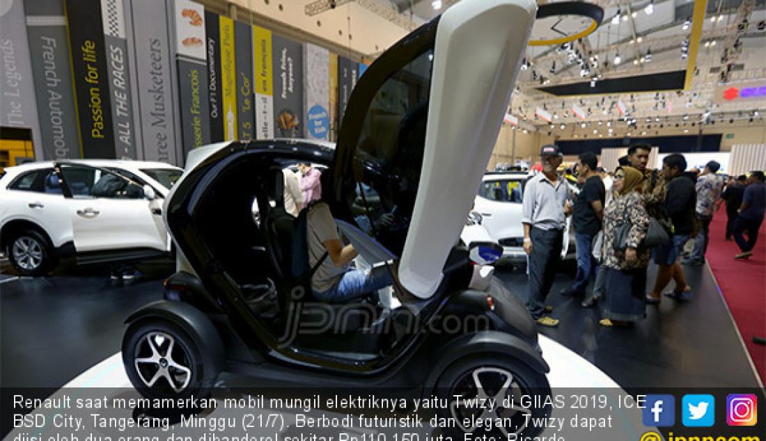 Renault Pamerkan Si Mungil Twizy - JPNN.com