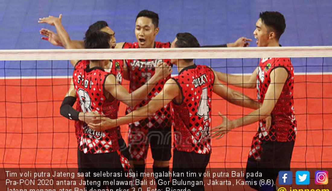 Tim Voli Putra Jateng Sikat Tim Putra Bali - JPNN.com