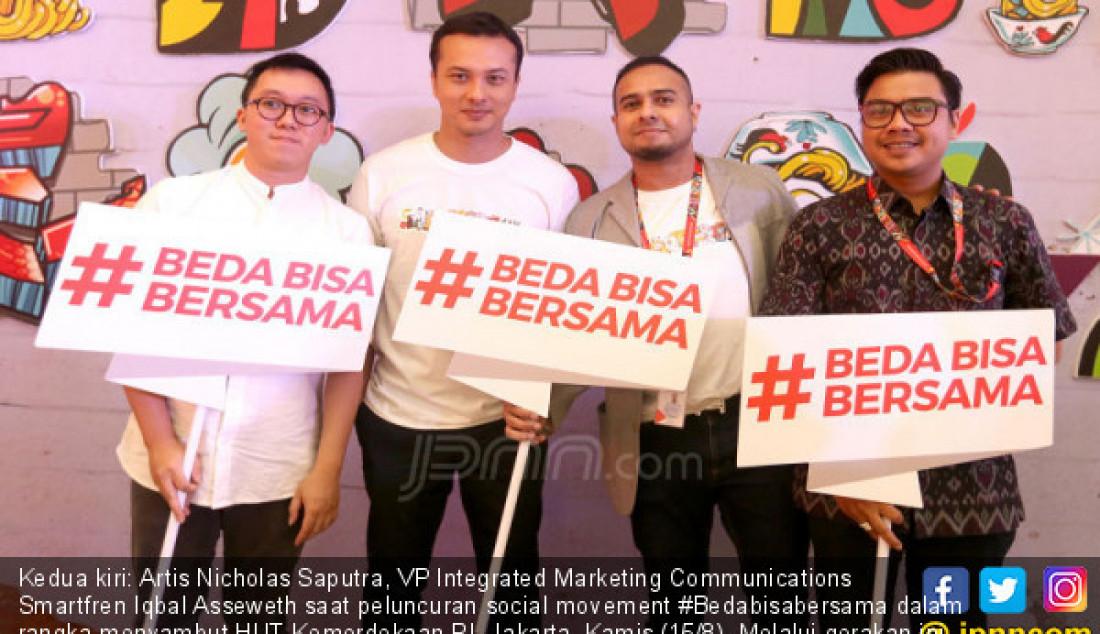 Sambut HUT RI, Smartfren Luncurkan #Bedabisabersama - JPNN.com