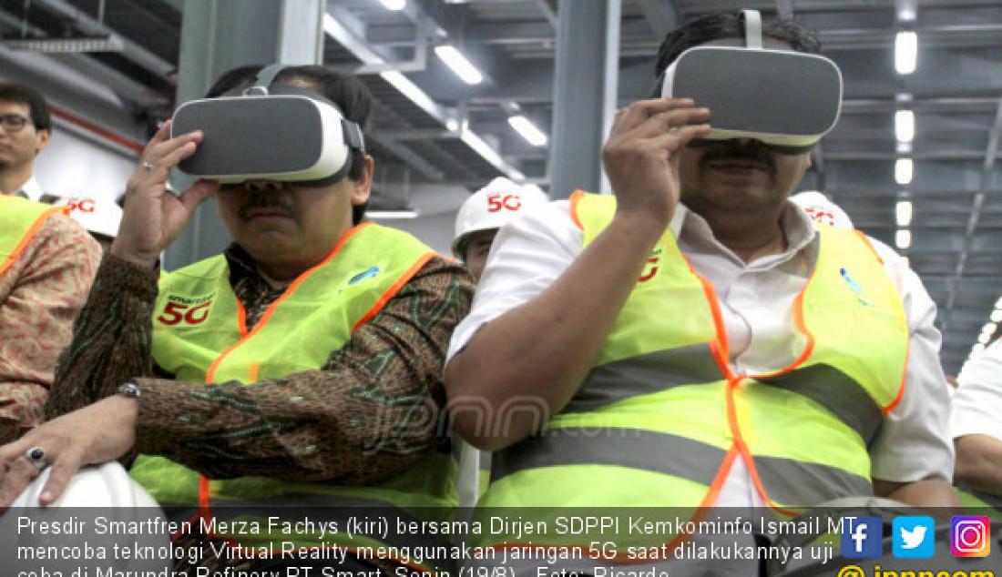 Smartfren Uji Coba Jaringan 5G - JPNN.com