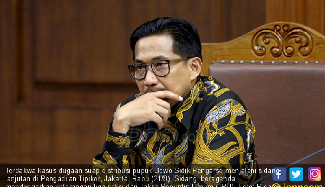 Sidang Bowo Sidik Pangarso Hadirkan Tiga Saksi - JPNN.com