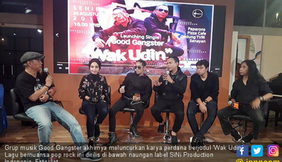 Good Gangster Luncurkan Album Perdana - JPNN.com