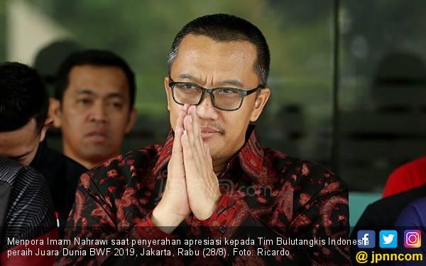 Pak Imam Nahrawi Tak Terima Suap, Pasti Bakal Kooperatif dengan KPK - JPNN.com
