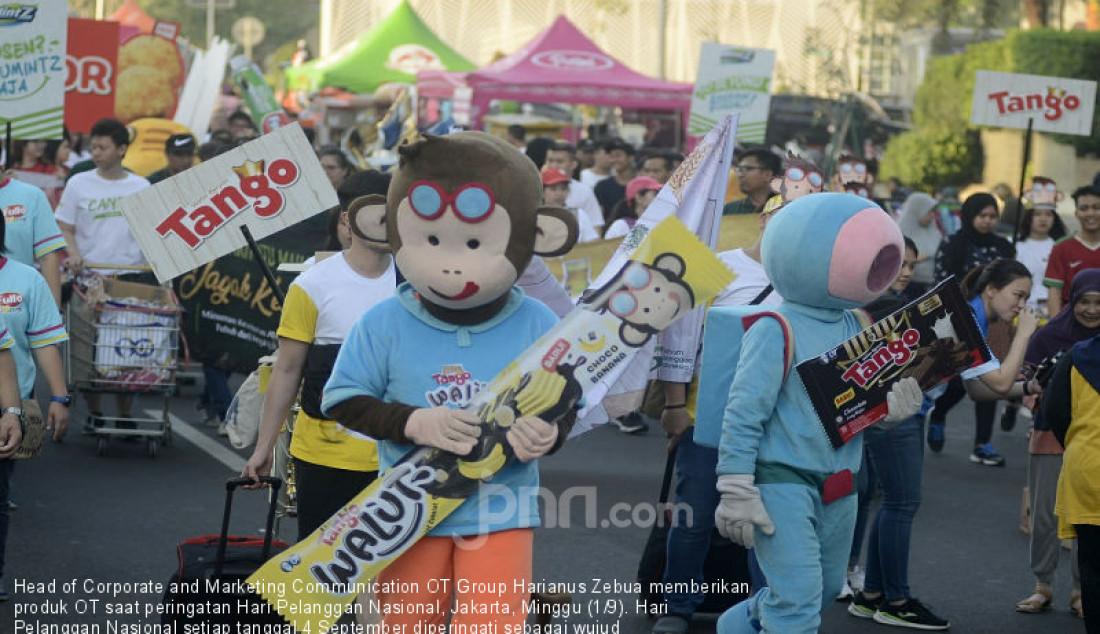 OT Peringati Hari Pelanggan Nasional Bersama Konsumen - JPNN.com