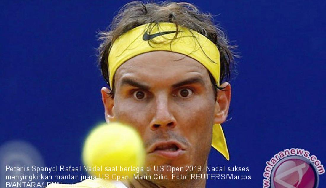 Nadal Singkirkan Mantan Juara Marin Cilic - JPNN.com