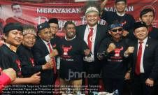 PDIP Kota Tangerang Aksi Kebhinekaan Usai Dilantik - JPNN.com