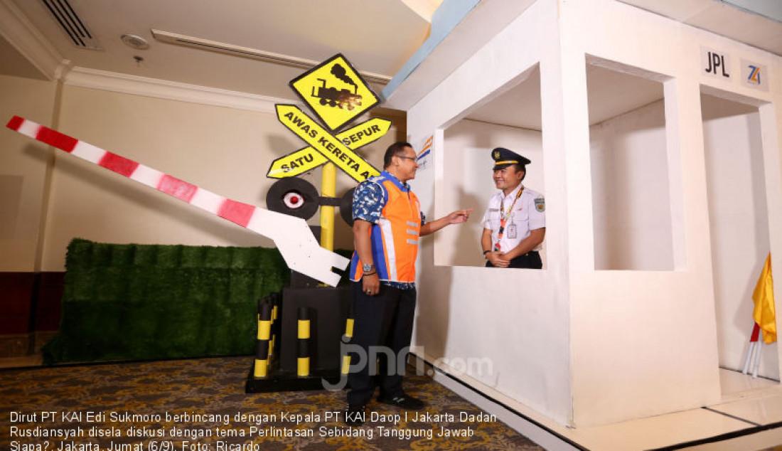 Dirut PT KAI Apresiasi Petugas dan Masyarakat Penjaga Palang Pintu Kereta Api - JPNN.com