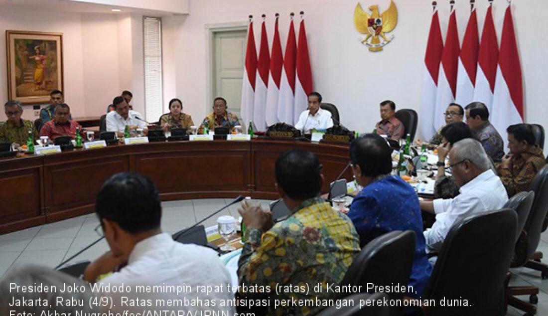 Presiden Jokowi Antisipasi Perkembangan Ekonomi Dunia - JPNN.com