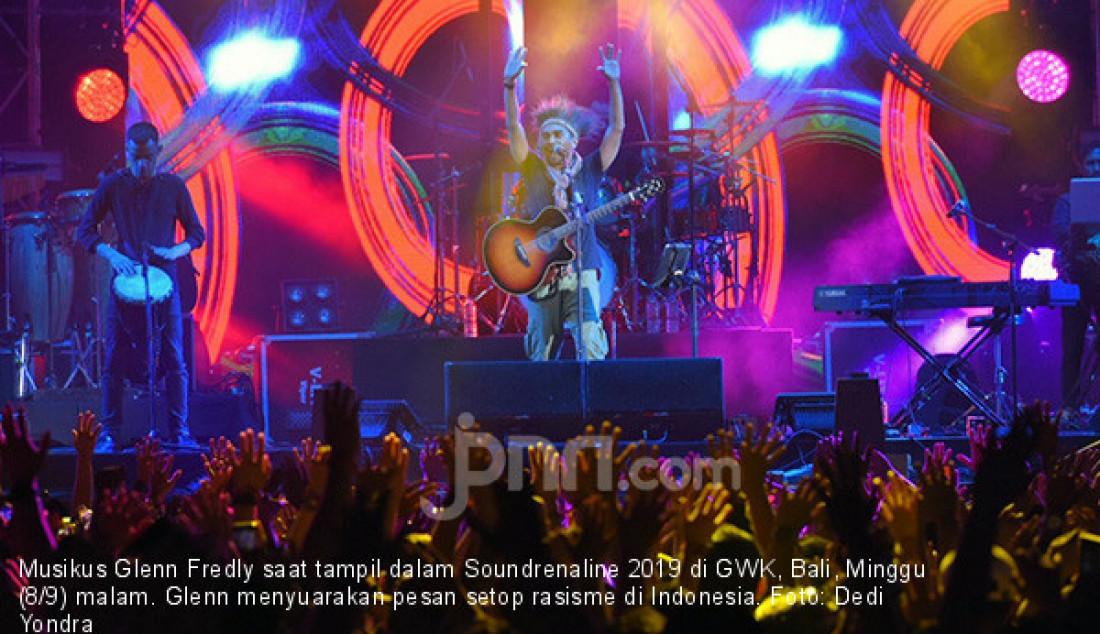 Glenn Fredly Suarakan Stop Rasisme di Indonesia - JPNN.com