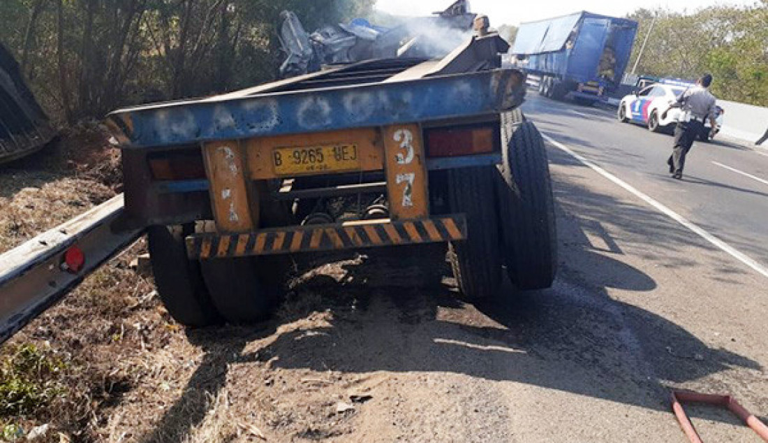 Lagi, Kecelakaan Terjadi di Tol Cipularang KM 92 - JPNN.com