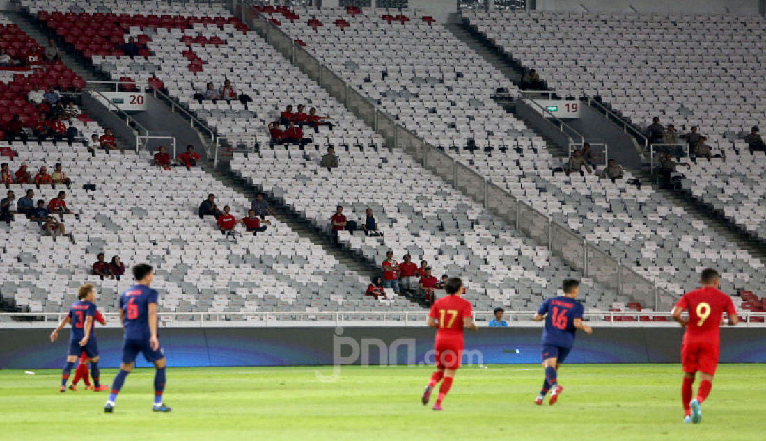 Laga Indonesia Melawan Thailand Sepi Penonton - JPNN.com