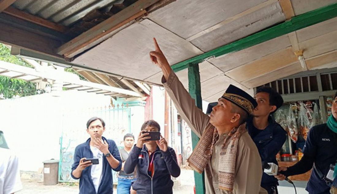 Ngamuk, Putra Elvi Sukaesih Rusak Warung Warga - JPNN.com