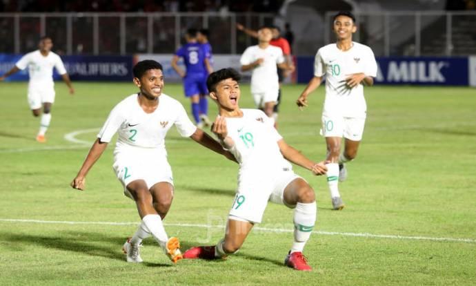 U-16 Indonesia Menang Telak Atas U-16 Filipina Dengan Skor 4-0