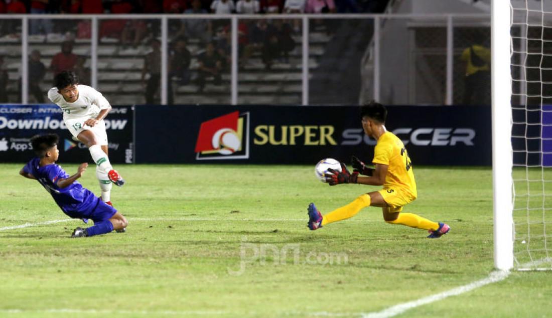 U-16 Indonesia Menang Telak Atas U-16 Filipina Dengan Skor 4-0 - JPNN.com