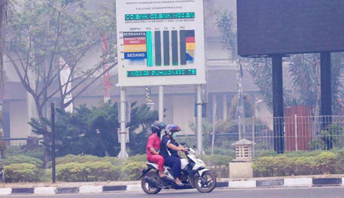 Kualitas Udara di Palangka Raya Berbahaya - JPNN.com
