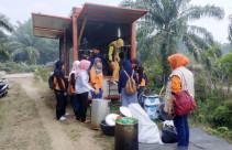 BPBD Bangun Dapur Umum untuk Pemadam Karhutla - JPNN.com