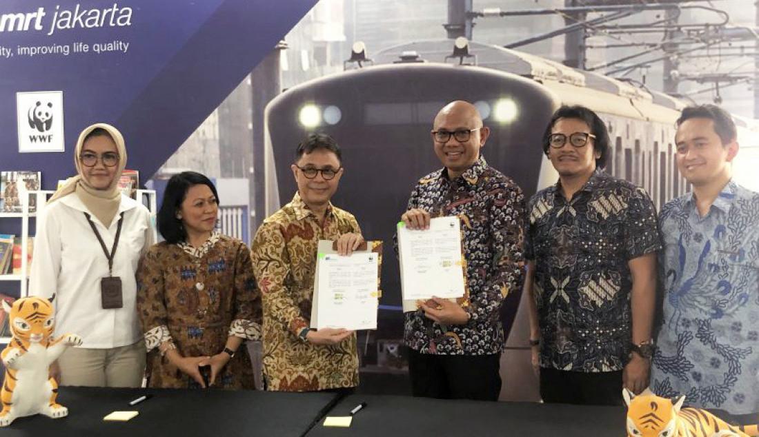 Edukasi Pelestarian Lingkungan, MRT Gandeng WWF - JPNN.com
