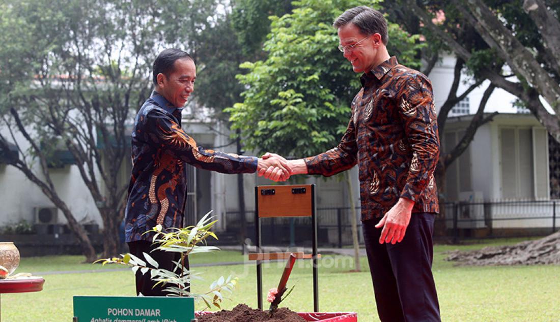 Presiden Jokowi Sambut PM Belanda Mark Rutte - JPNN.com