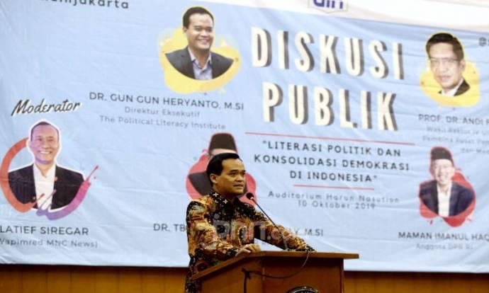 Bedah Buku Literasi Politik dan Kosolidasi Demokrasi di Indonesia Pasca Reformasi