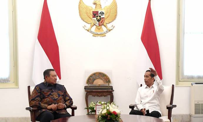 Presiden Joko Widodo Bertemu dengan SBY