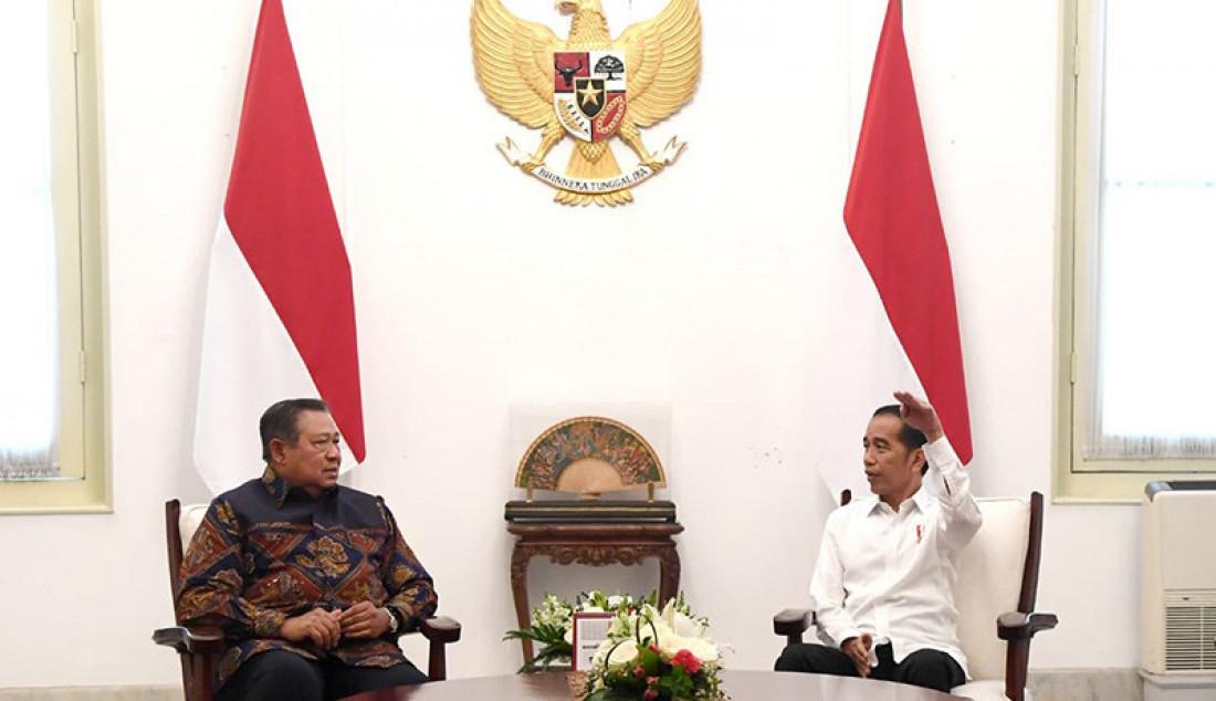 Presiden Joko Widodo Bertemu dengan SBY - JPNN.com