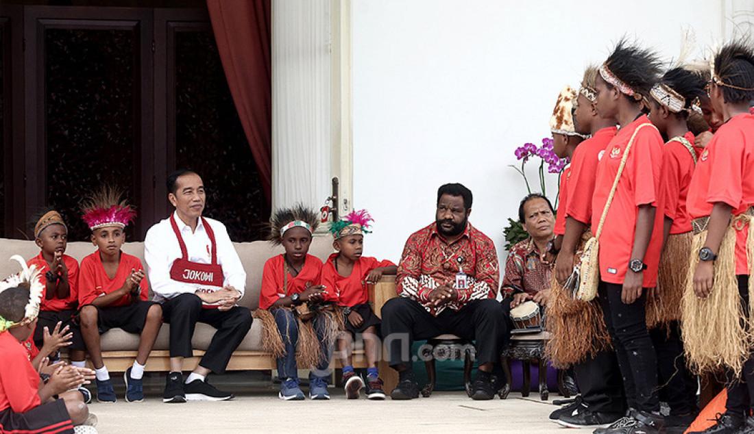 Presiden Jokowi Bertemu Siswa SD Jayapura dan Asmat - JPNN.com