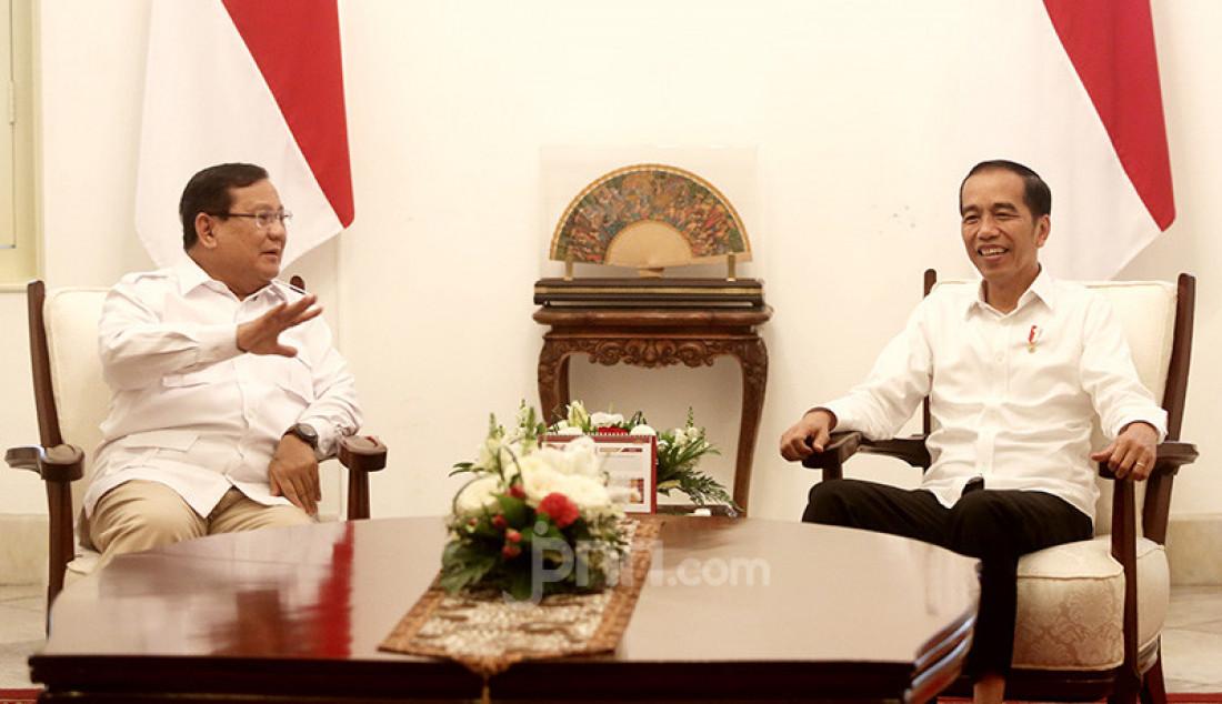 Presiden Jokowi Bertemu dengan Prabowo - JPNN.com