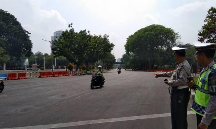 Jalan Merdeka Utara dan Barat Ditutup - JPNN.com
