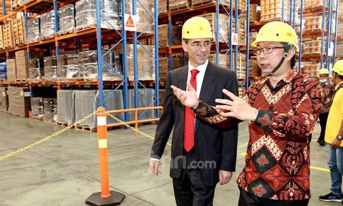 Sika Indonesia Resmikan Pabrik Baru