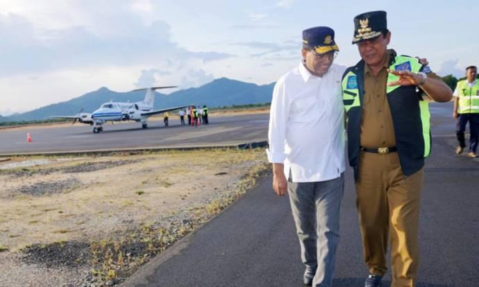 Bandara Letung di Anambas Resmi Beroperasi
