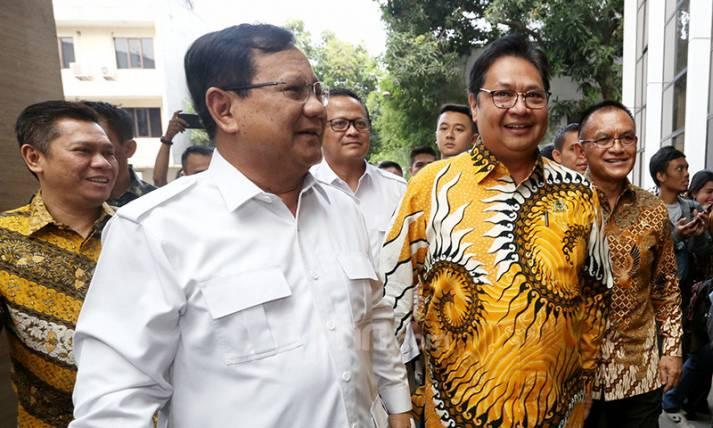 Prabowo Subianto Temui Airlangga Hartarto - JPNN.com