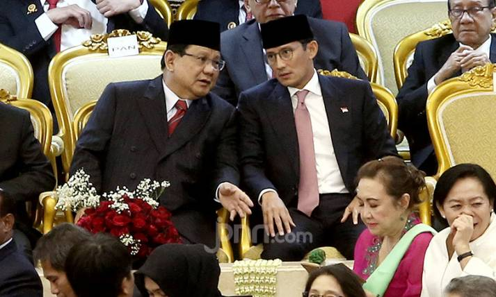 Prabowo Subianto dan Sandiaga Uno - JPNN.com