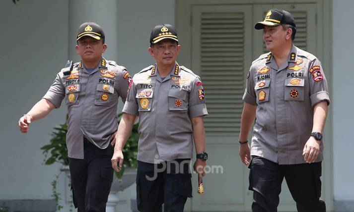 Jenderal Tito Karnavian Merapat ke Istana - JPNN.com