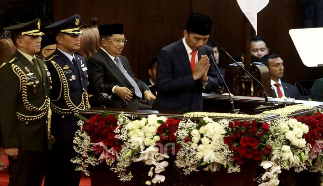 Pidato Perdana Presiden Joko Widodo - JPNN.com