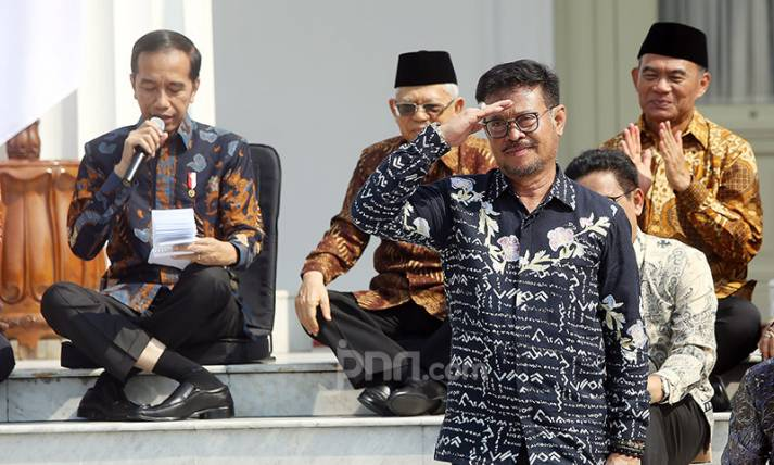Mentan Syahrul Yasin Limpo - JPNN.com