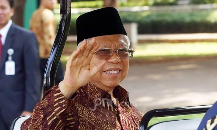 Wakil Presiden Indonesia Ma'ruf Amin - JPNN.com