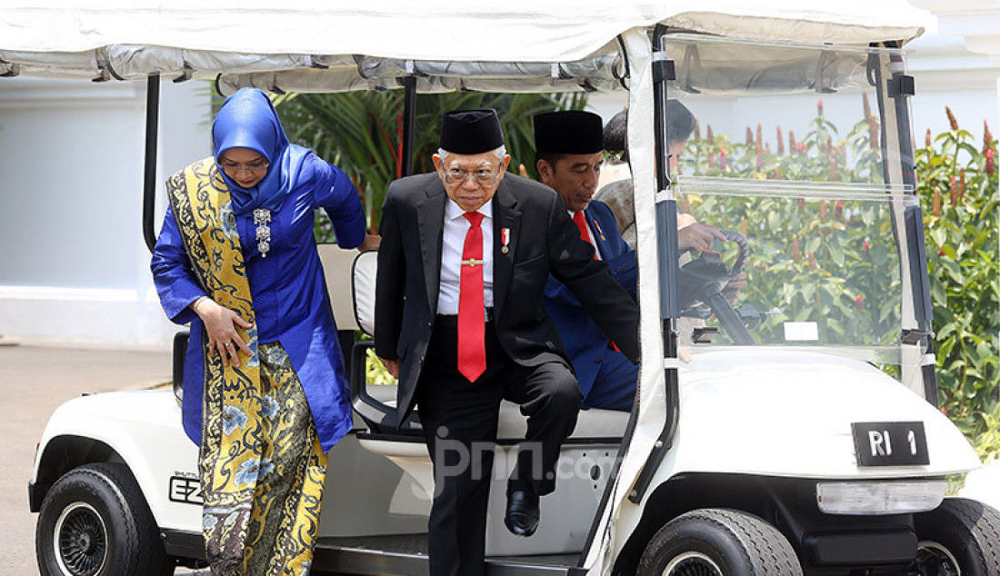 Presiden Joko Widodo dan Wapres Ma'ruf Amin - JPNN.com