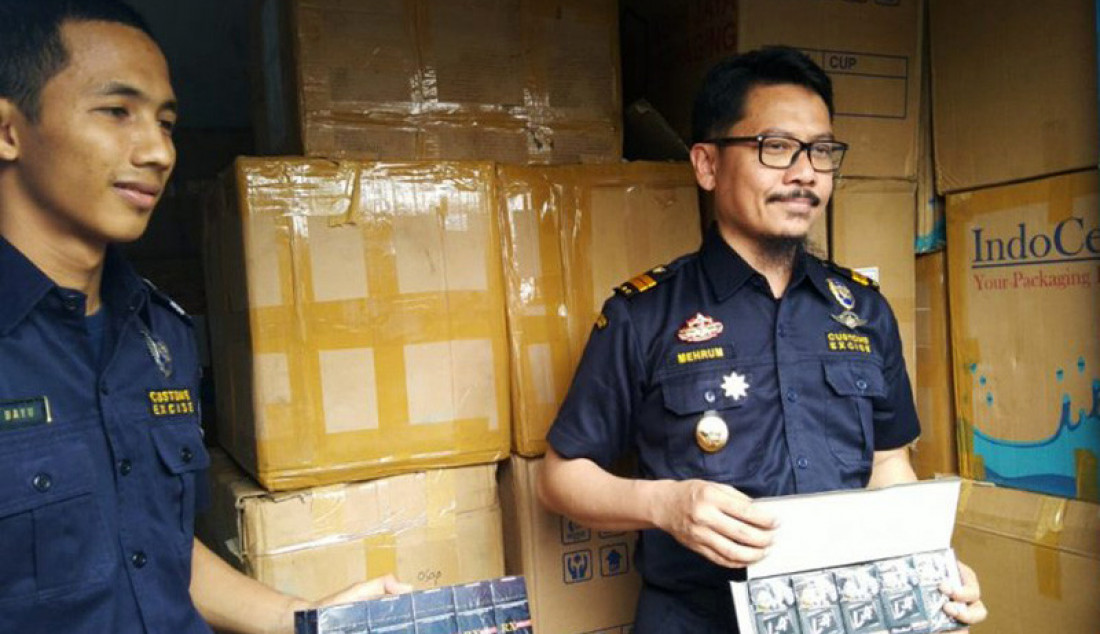 BC Jambi Amankan 1,7 Juta Rokok Ilegal - JPNN.com