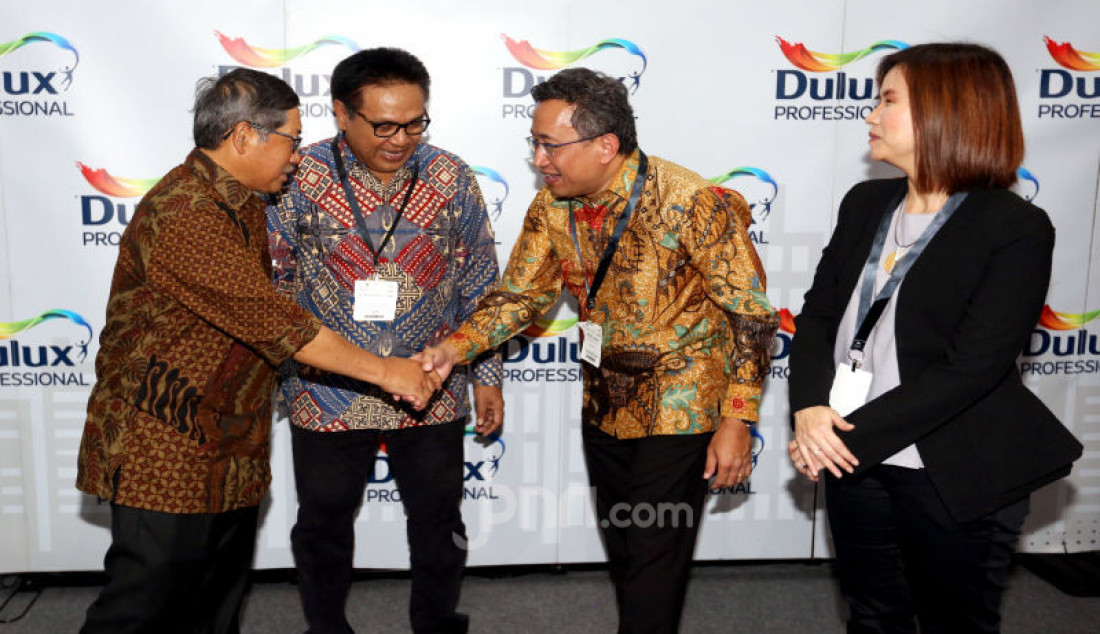 Mitra Dulux Dapatkan Sertifikasi Kompetensi Kerja Bidang Jasa Kontruksi dari LPJK Nasional - JPNN.com