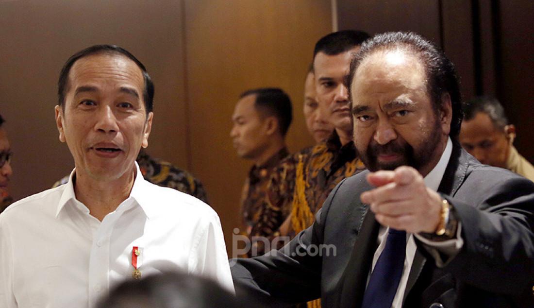 Surya Paloh Sambut Presiden Joko Widodo - JPNN.com