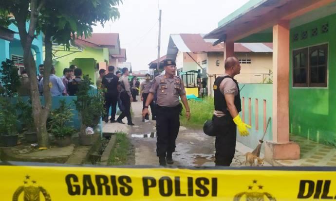 Rumah Terduga Teroris Bom Mapolrestabes Medan Digeledah